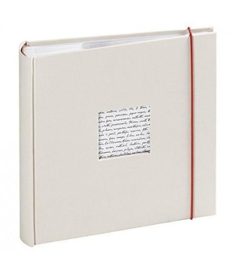 PANODIA Album photo pochettes Linéa blanc cassé 200 photos 11,5x15 cm