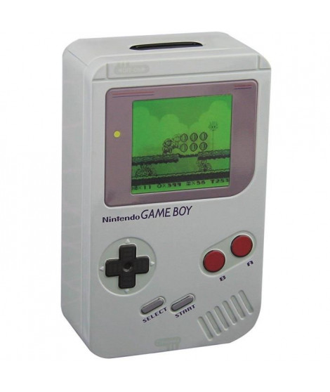 Tirelire métal Nintendo : Game Boy