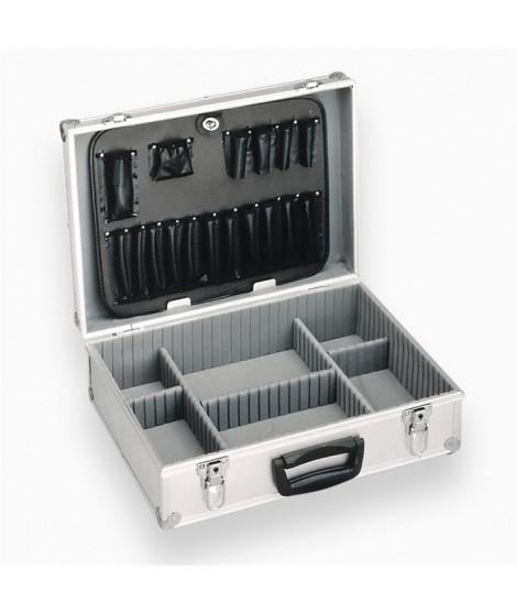 MEISTER Coffret a outils vide en aluminium