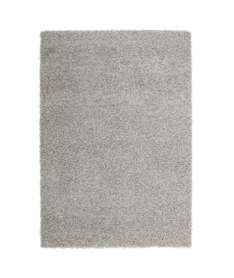 Tapis de salon Shaggy TRENDY 30mm 160x230 cm Gris