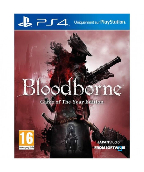 Bloodborne Game of The Year Jeu PS4