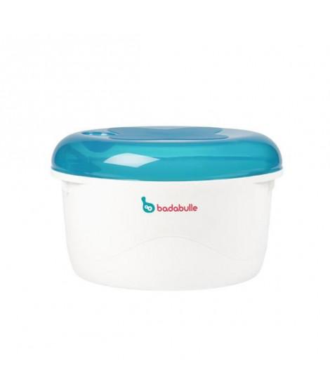 BADABULLE Stérilisateur micro-ondes bleu / gris