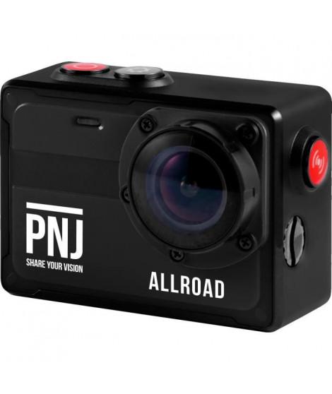 PNJ CAMALLROAD Action cam - 4K/Ultra HD - Étanche - Grand Angle 130° - 8MP