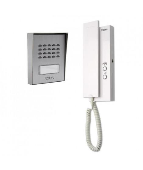 EXTEL Interphone audio Easy Bus 3 a 2 fils évolutifs