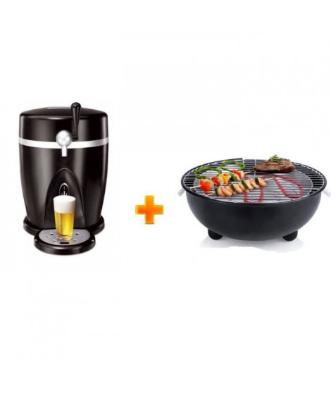 PRINCESS Tireuse a biere + TRISTAR Barbecue offert
