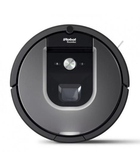 IROBOT ROOMBA 960 Aspirateur robot intelligent, connecté et efficace ? Noir/Gris
