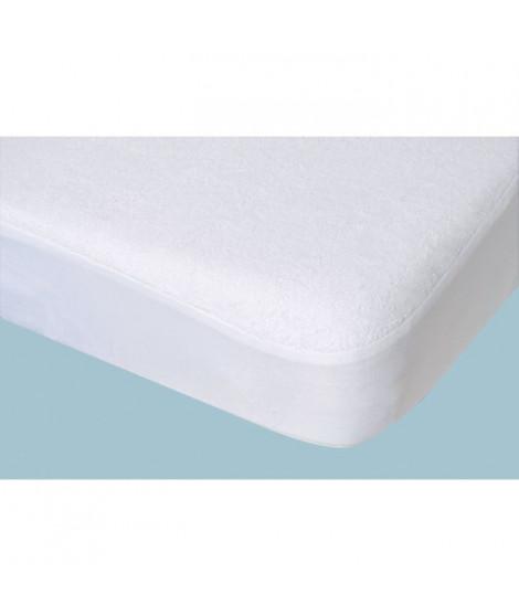 DOUX NID Protege-matelas Alese 60x120 Blanc