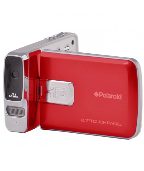 POLAROID IX2020-RED Camescope numérique Full HD 1080 P - Photo 20 Mpx - Rouge