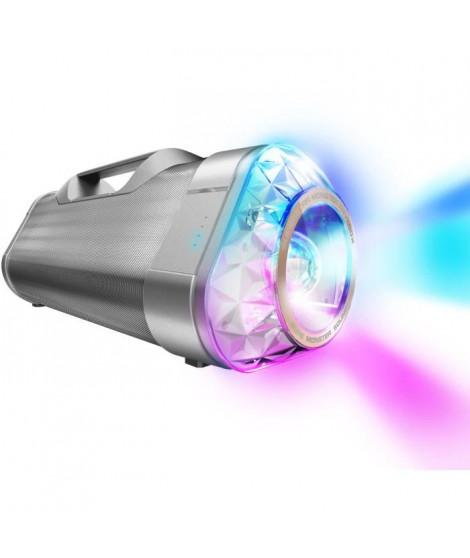 MONSTER SUPERSTAR BLASTER RAVEBOX Enceinte portable Bluetooth avec Kaléidoscope type Boombox