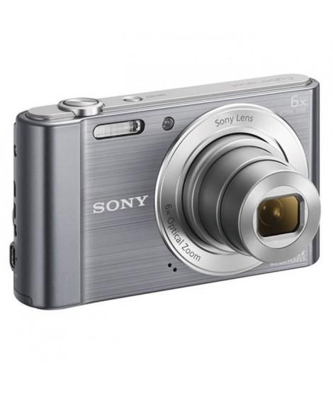 SONY DSC-W810 Compact Silver - CCD 20 MP Zoom 6x