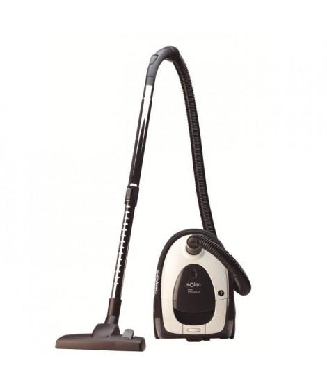 SOLAC S94809500 Aspirateur New Piccolo avec sac 700 W - Noir et Blanc