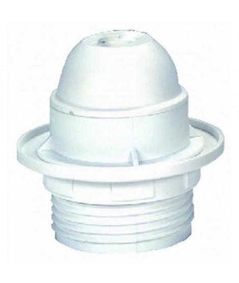 VOLTMAN Accessoire d'Eclairage Douille avec Bague Plastique Blanc