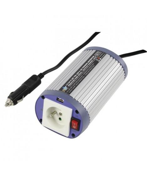 HQ Convertisseur de tension USB 300 W 12 V en 220 V