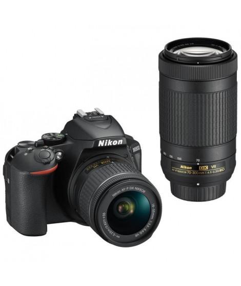 NIKON D5600 + 2 Objectifs  AF-P 18-55 VR + AF-P 70-300 VR