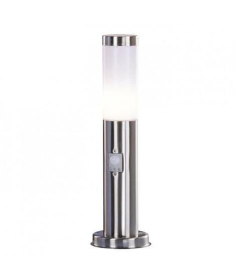GLOBO LIGHTING Borne extérieure inox - Plastique opal