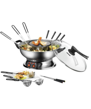 UNOLD - Appareil a fondue chinoise 48746 - inox