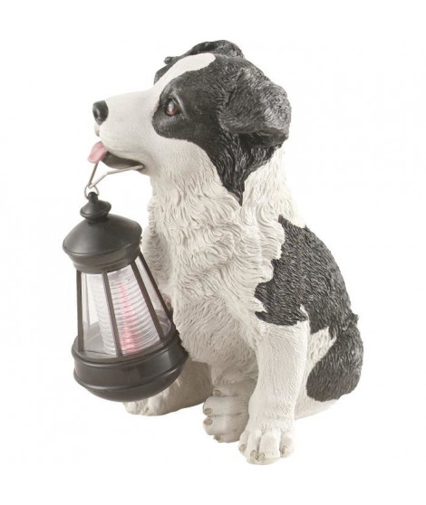 Globo Lighting Lampe solaire - Plastique noir blanc - IP44