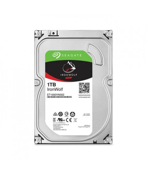 """Seagate NAS HDD Iron Wolf 1To 3,5"""""""
