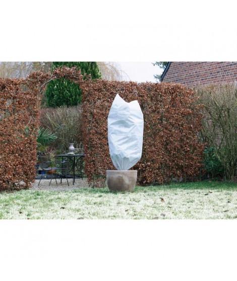 NATURE Housse d'hivernage 50 g/m² - Ø50 cm x 1 m - Blanc