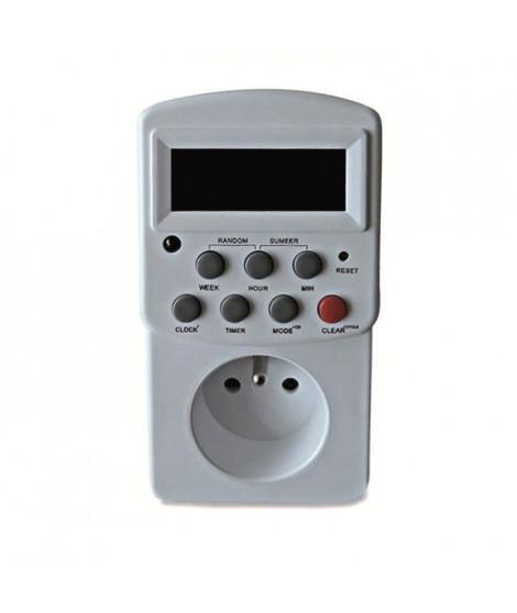 SCS SENTINEL Prise programmable électronique hebdomadaire blanc