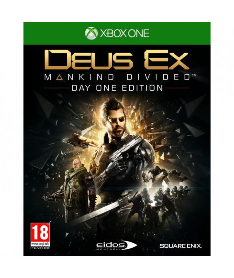 Deus Ex : Mankind Divided Edition Day One Jeu Xbox One