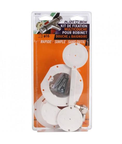 DIPRA Kit de fixation appareil sanitaire Alize'o box duo multicouche D.16mm