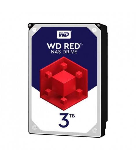 """WD Red 3To 64Mo 3.5"""""""