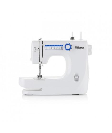 TRISTAR SM-6000 Machine a coudre ? 10 modeles ? Double aiguille - Blanc
