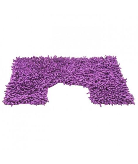 FRANDIS Contour WC chenille - 50  x 40  cm - Violet
