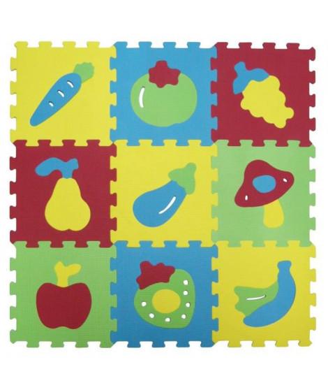 LUDI Tapis Mousse Basic Fruits
