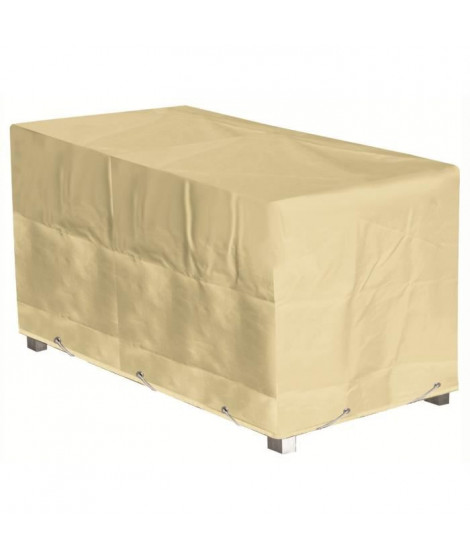 GREEN CLUB Housse de protection pour table - 226x112x65 cm - Beige