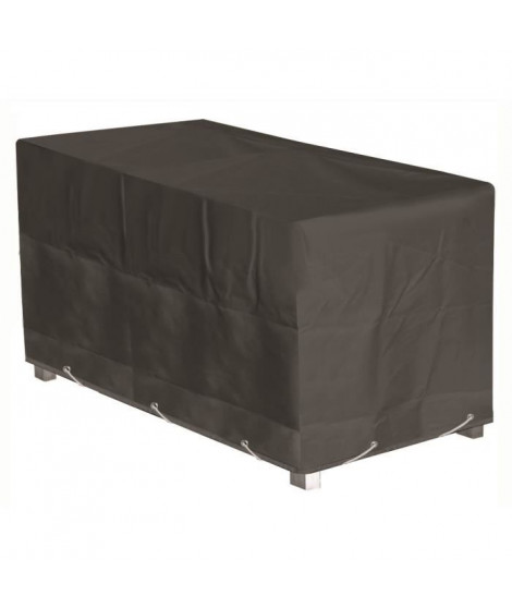 GREEN CLUB Housse de protection pour table de jardin - 220x120x65 cm - Anthracite