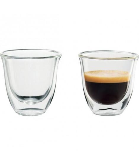 DELONGHI Lot de 2 tasses Espresso - 6 cl
