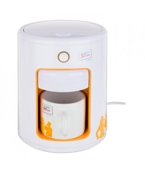 MACHINE A EXPRESSO + THE MODELE UD888 WHITE&ORANGE