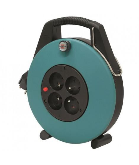 BRENNENSTUHL Enrouleur domestique Confort-line cl-x vert 10m H05VV-F 3G1.0