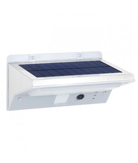 LUMISKY Spot solaire mural extérieur étanche avec détecteur - 21 LEDs - 330 Lm - Pivotante a 120°C