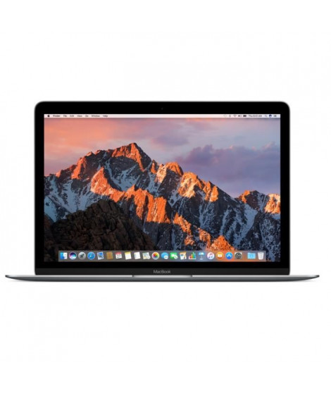 "APPLE MacBook MNYF2FN/A 12""  - Intel Dual Core M3 1.2GHz - Stockage 256Go - Space Grey"
