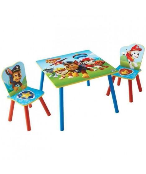 PAT'PATROUILLE Ensemble Table Et 2 Chaises Pour Enfants