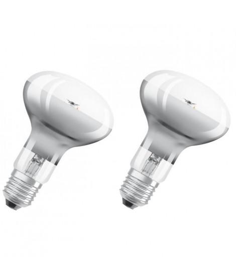 OSRAM Lot de 2 Ampoules Spot LED R80 E27 4 W équivalent a 32 W blanc chaud