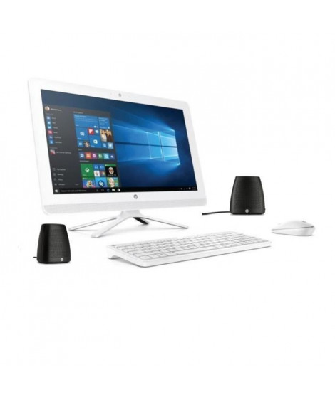 "HP PC Tout en un- 22b000nf-21,5""-RAM 4Go- Windows 10 - Intel Core i3- Intel HD - Disque Dur 2To + enceintes"