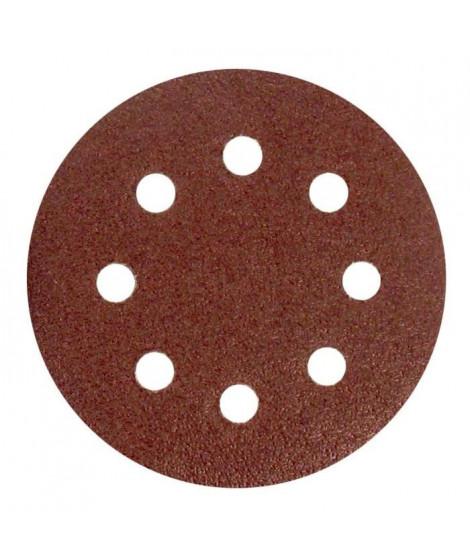 Lot de 6 disques abrasifs pour décaper - Ø 115 mm - Gros grain 40