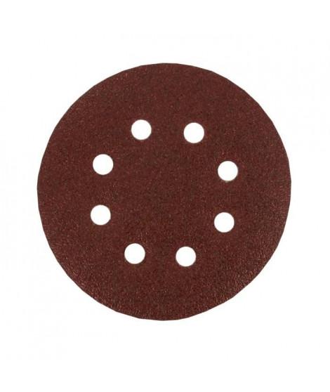 Lot de 6 disques abrasifs pour décaper - Ø 125 mm - Gros grain 40