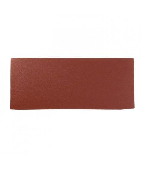 Lot de 6 rectangles abrasifs pour finition - 93 x 230 mm - Grain fin 120