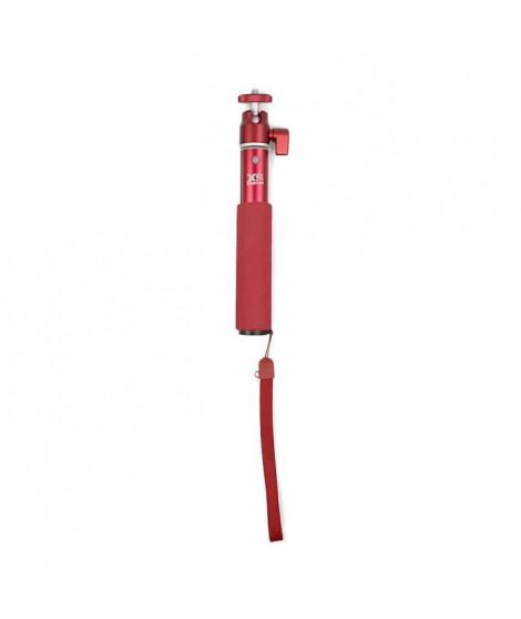 XSORIES Perche Télescopique pour Caméra U-Shot - 49 cm - Rouge
