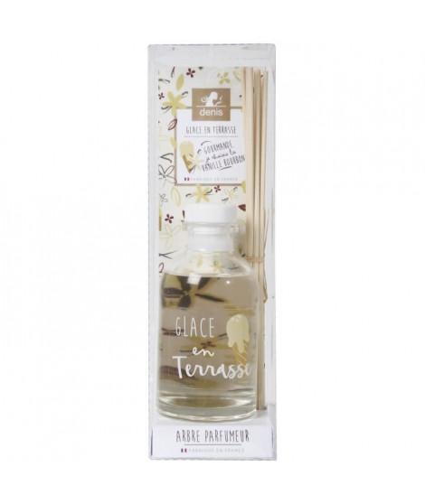 LE CHAT Diffuseur a froid Glace en terasse - 100 ml - Parfum : vanille - Couleur : beige ivoire