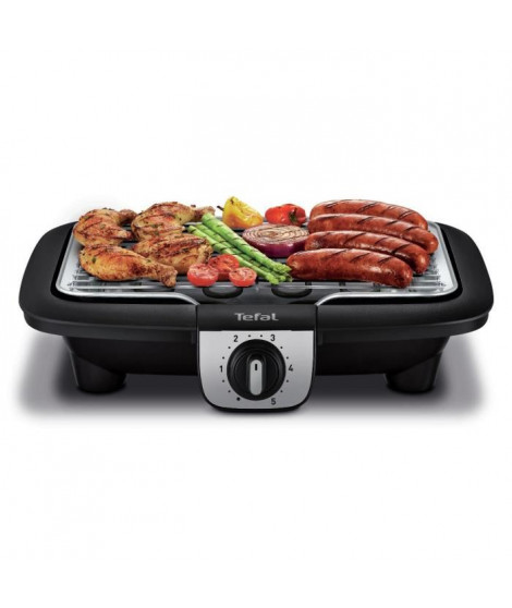 TEFAL YY3818FB Barbecue Easygrill 2 en 1 + Plancha de table