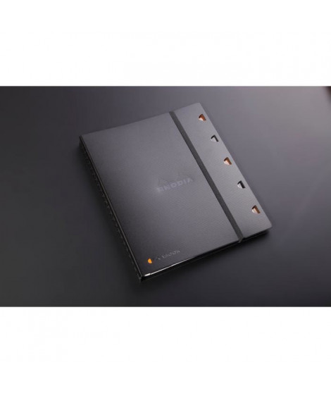 RHODIA Cahier organiseur rechargeable Exabook - 225x297 mm - 160 pages