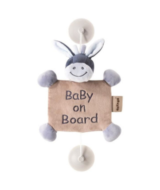 NATTOU Baby On Board Alex L'âne