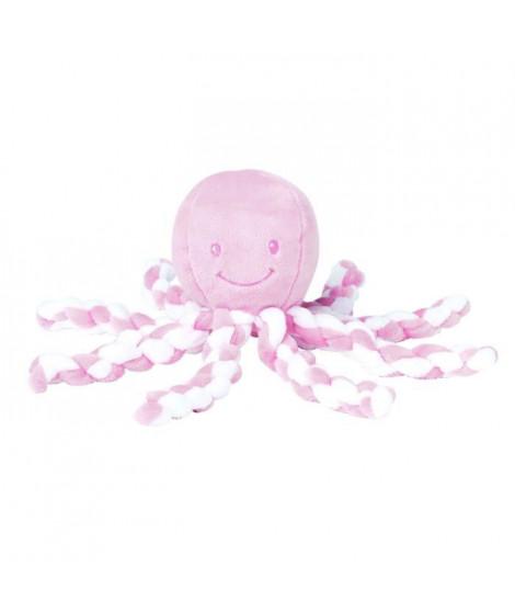 NATTOU Peluche Poulpe Pink-White