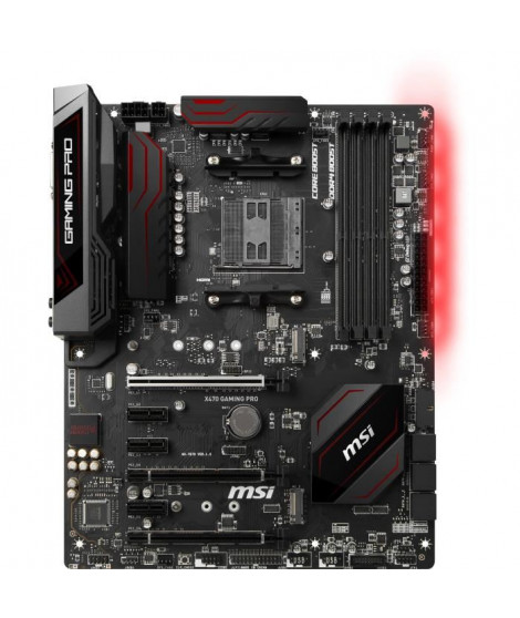MSI Carte mere X470 GAMING PRO  - Socket AMD AM4